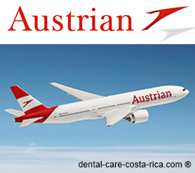 austrian airlines dental care costa rica