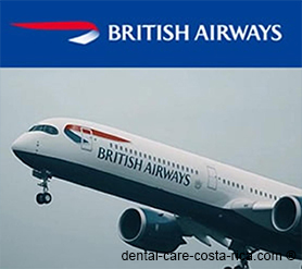 british airways airlines dental care costa rica