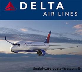 delta airlines dental care costa rica