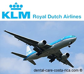 klm airlines dental care costa rica