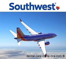 southwest airlines dental care costa rica