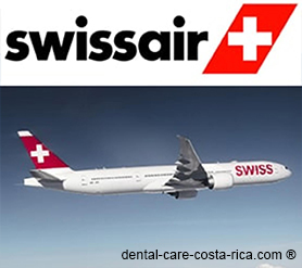 swissair airlines dental care costa rica