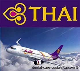 thai airlines dental care costa rica