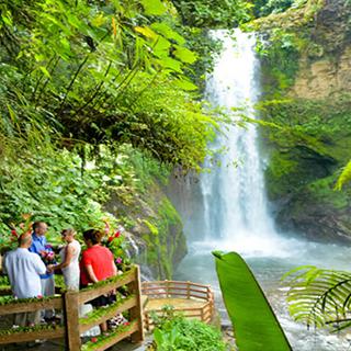 Costa Rica Excursions et visites d'une journée Parc national du volcan Poás / Doka Coffee Tour / Jardin des cascades de La Paz