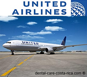united airlines dental care costa rica