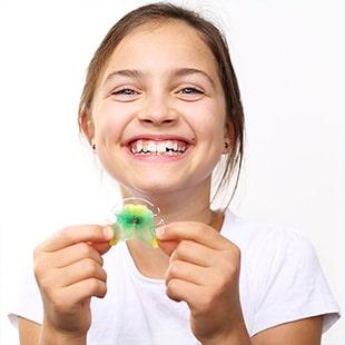 orthodontie pour enfants